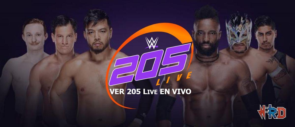 ver 205 Live en vivo, wwe