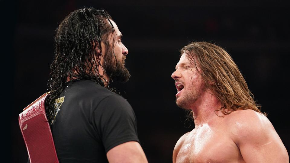 AJ Styles se enfrentara a Seth Rollins