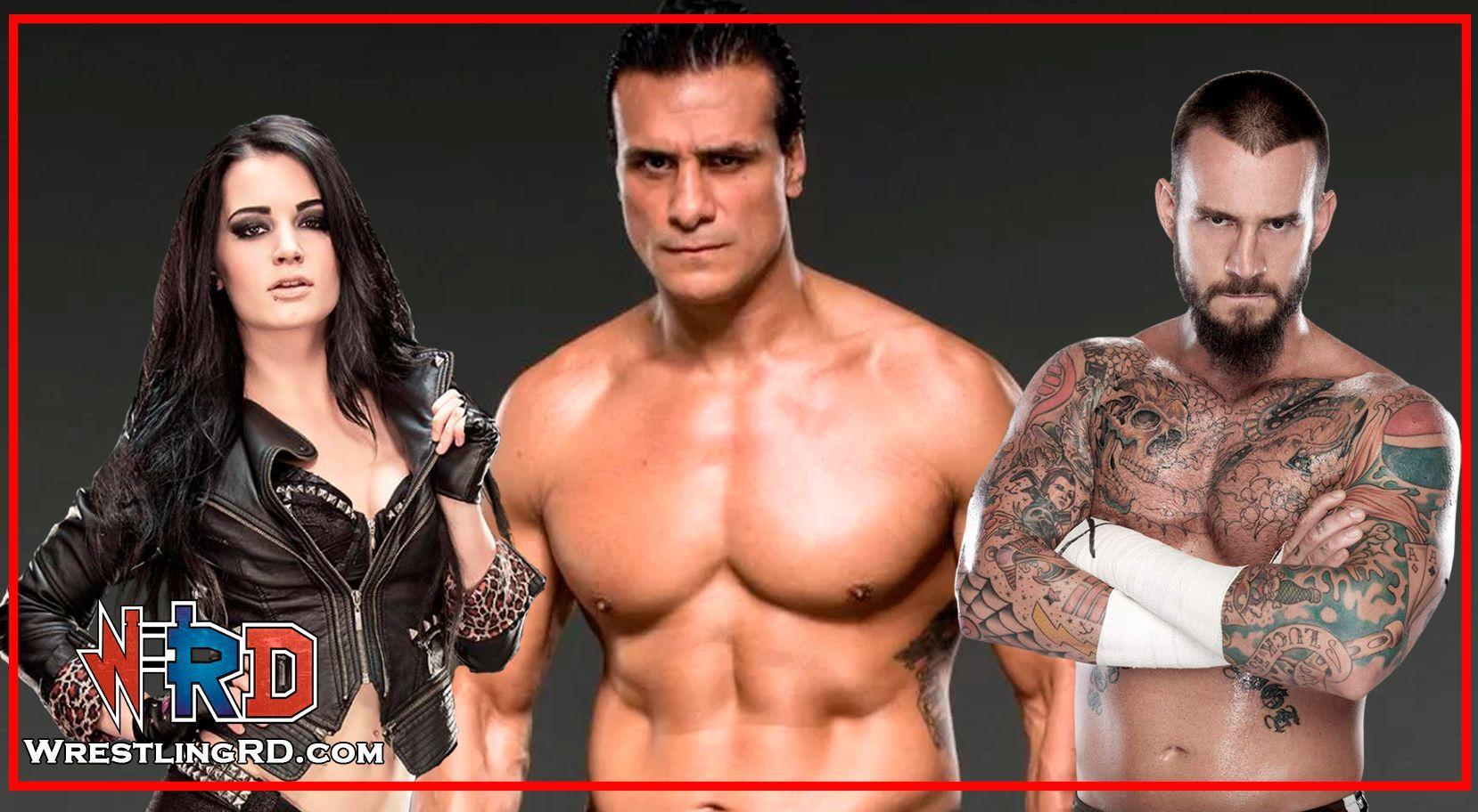 Alberto Del Rio, CM Punk, John Cena, Paige