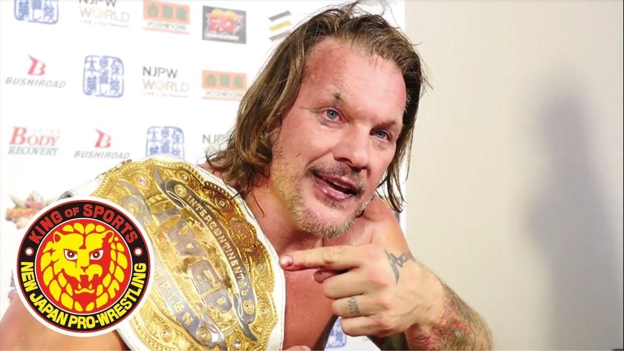 Chris Jericho ya no tiene contrato con New Japan Pro-Wrestling