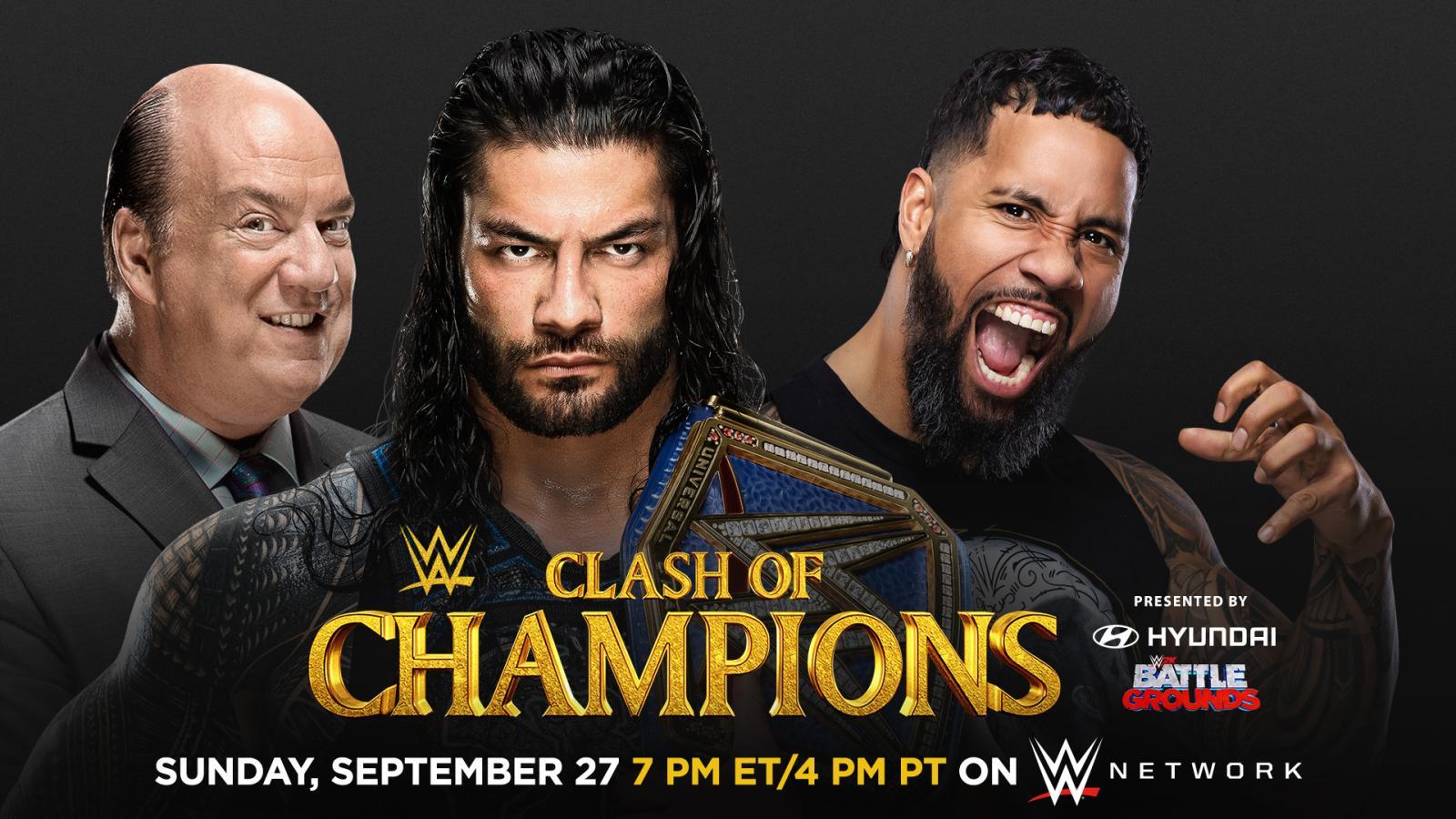 ¿Porqué Roman Reigns se enfrenta a Jey Uso en Clash Of Champions?