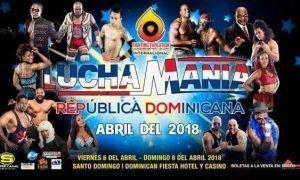 """FEW Internacional, Lucha Mania, 2018"""""""