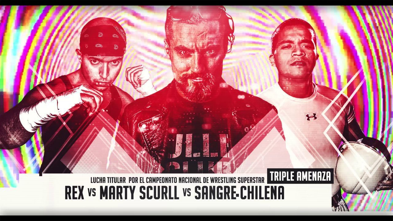 The Villain Marty Scurll, Bullet Club, Sangre Chilena, Rex
