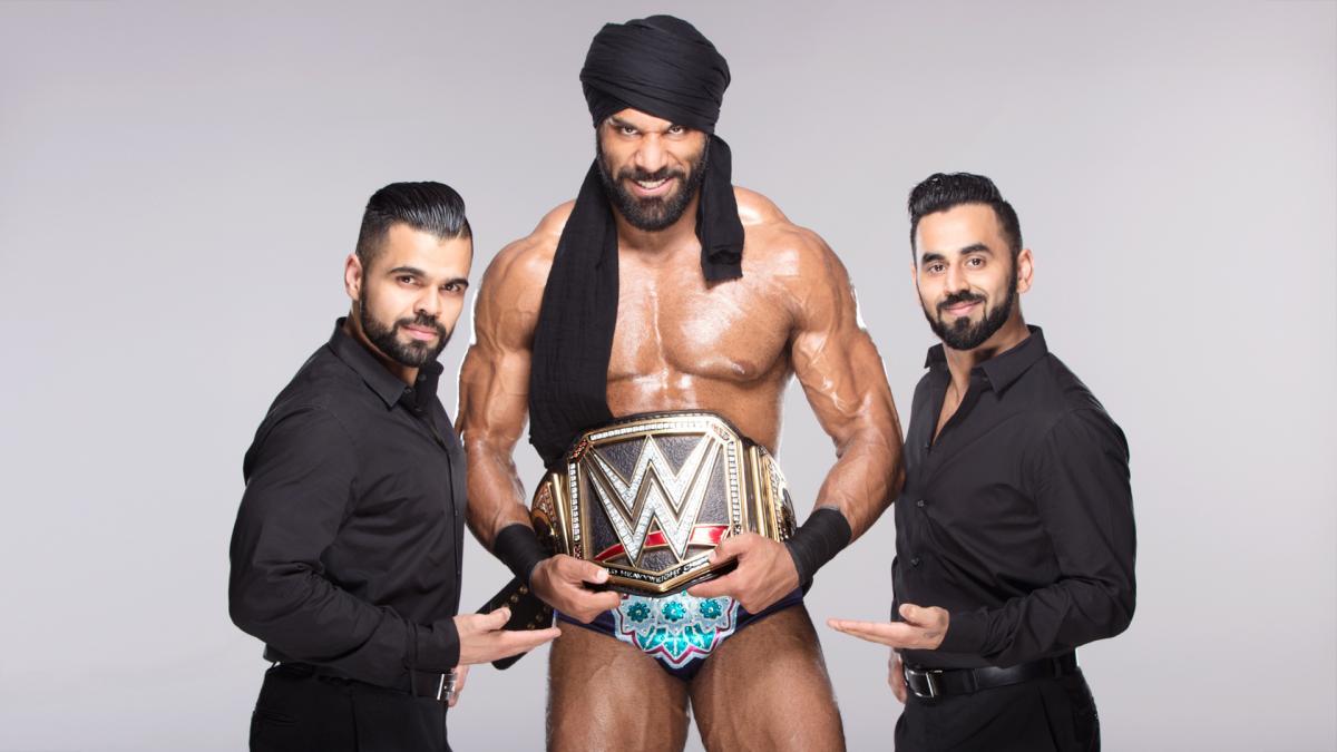 luchador odiado Jinder Mahal