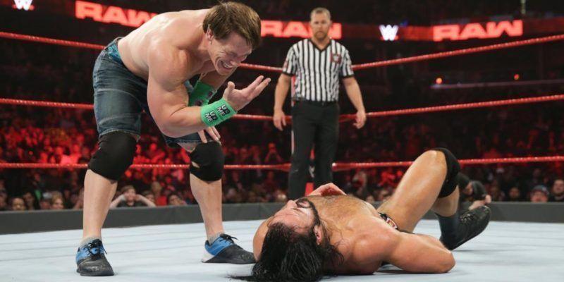 John Cena puede enfrentar a Drew McIntyre este año