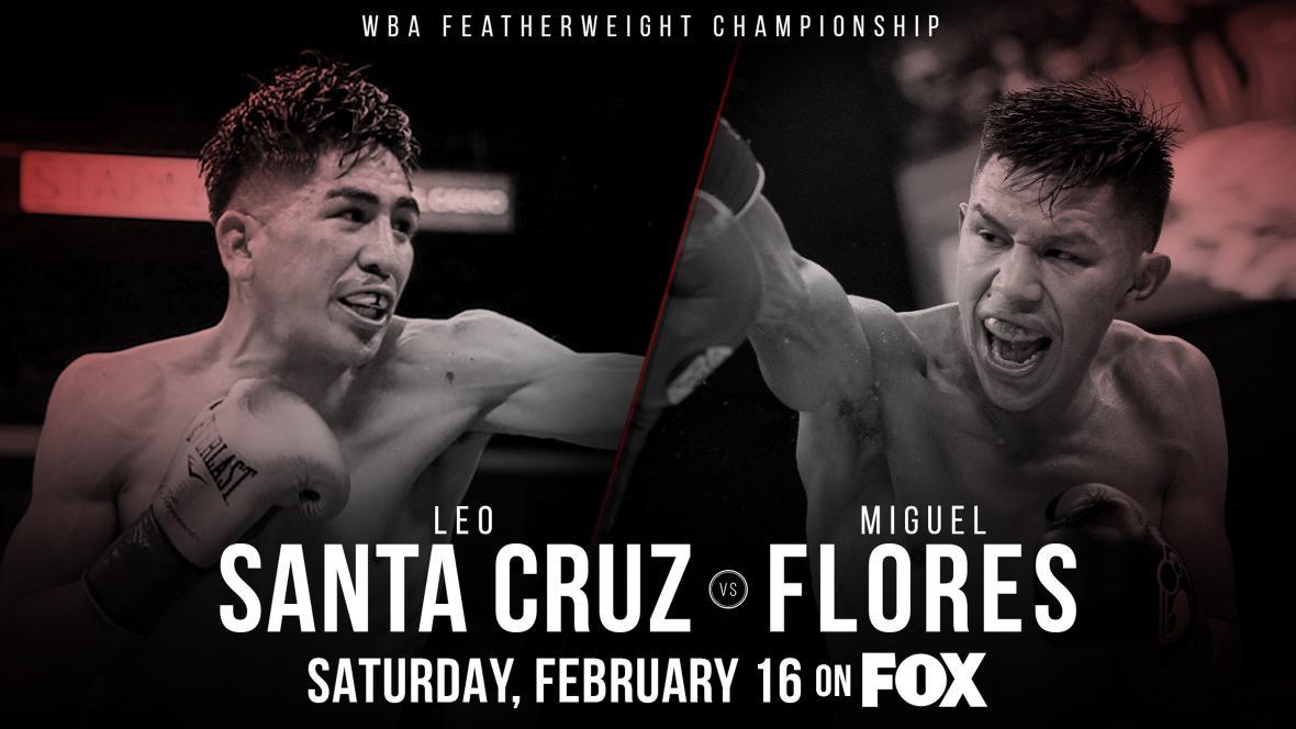 Leo Santa Cruz vs. Miguel Flores