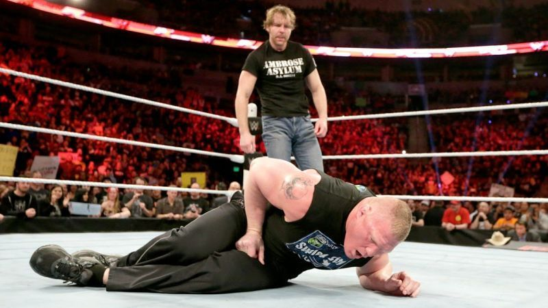 Lesnar pensó que le estaba haciendo un favor a Ambrose.