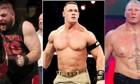 Luchadores de WWE