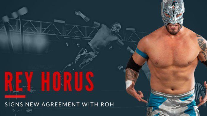 Rey Horus firma oficialmente un nuevo contrato con Ring of Honor