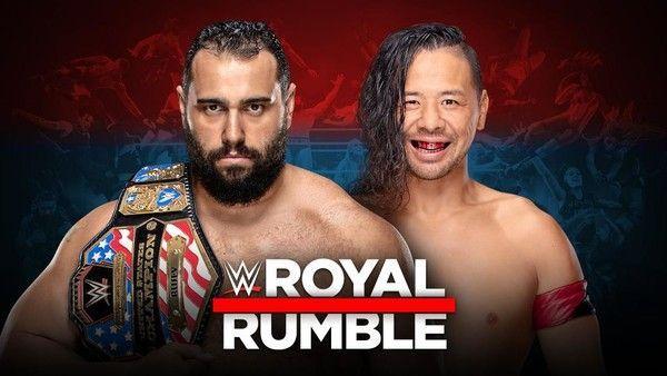 Rusev vs. Shinsuke Nakamura