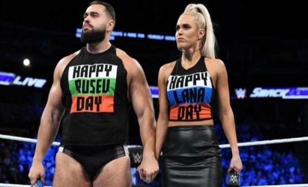 Rusev y Lana