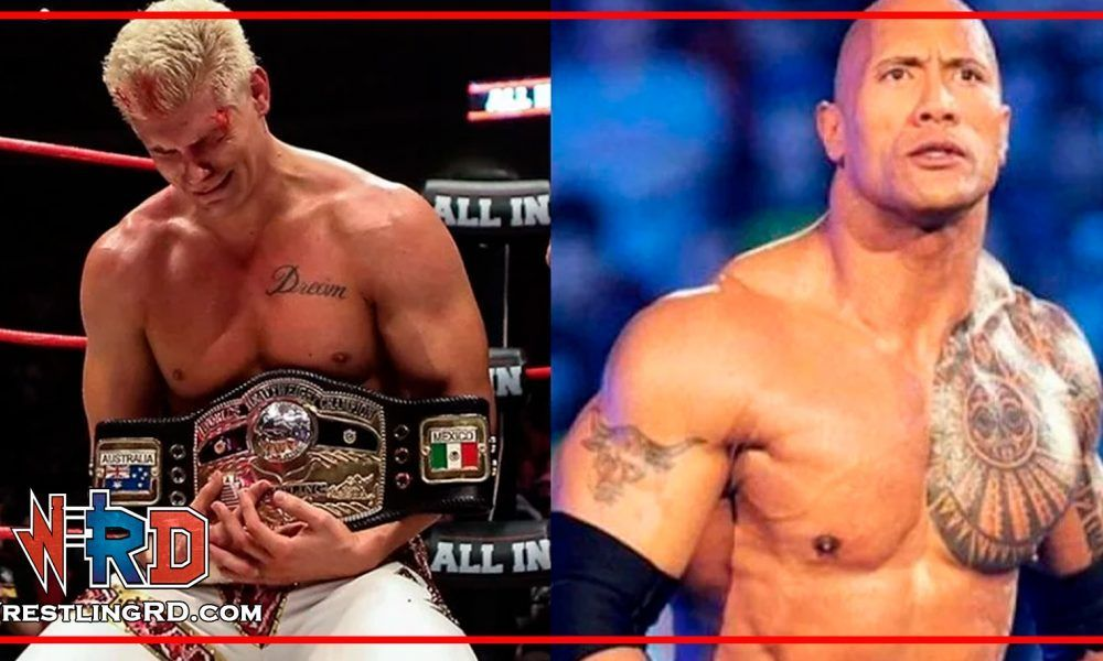 the rock, Cody Rhodes
