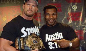 "Mike Tyson, ""Stone Cold"" Steve, Austin"