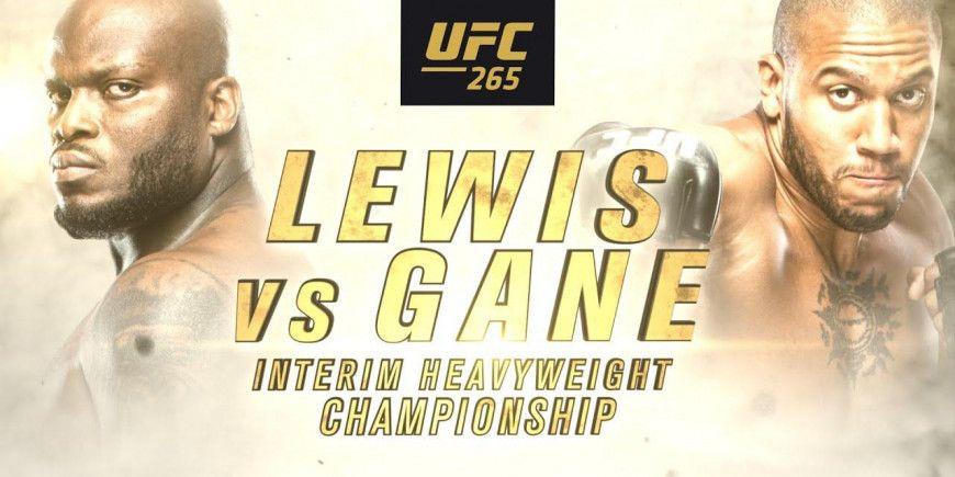 UFC 265: Como esta las apuesta de la pelea entre Lewis Vs. Gane