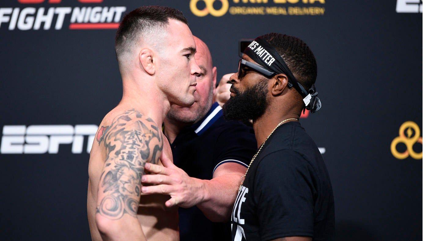 UFC Fight Night resultados