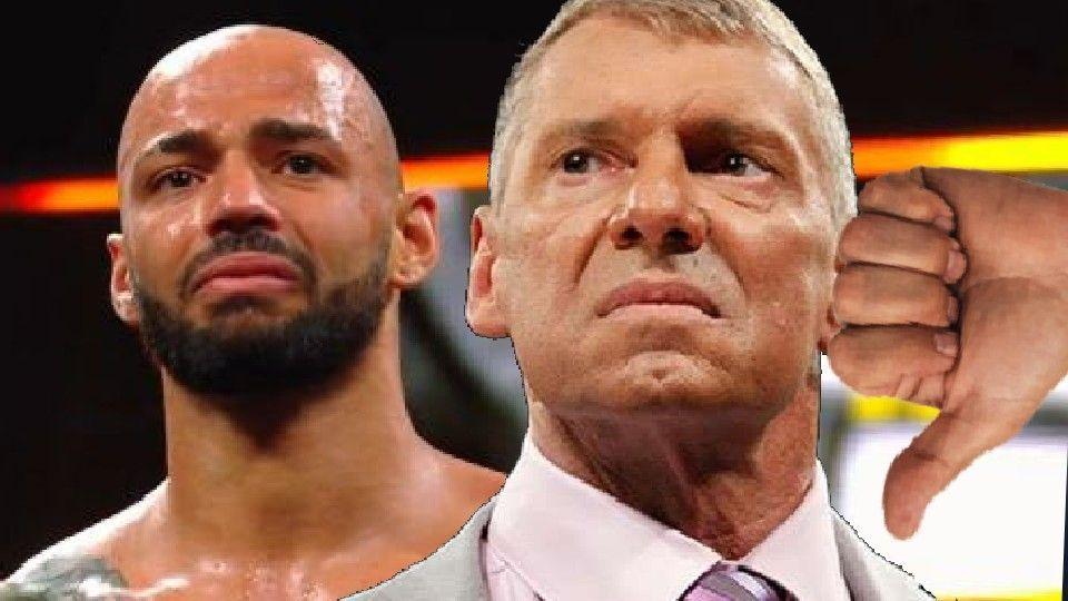 Vince McMahon, según se informa, renunció a Ricochet