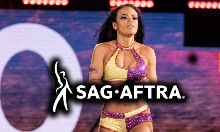 El presidente del sindicato SAG-AFTRA se acerca a Zelina Vega después de su liberación de WWE