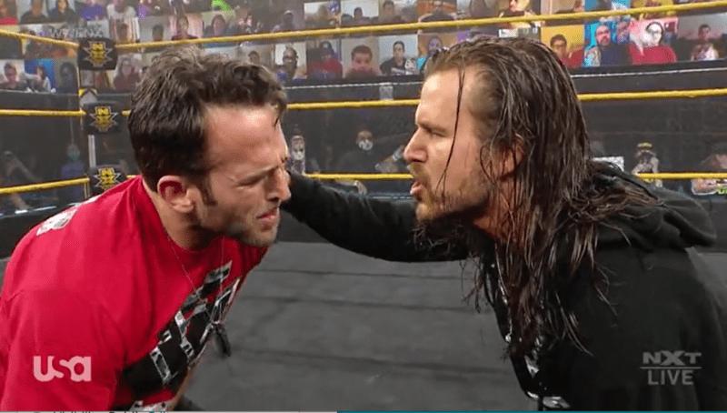 Adam Cole atacó a Roderick Strong