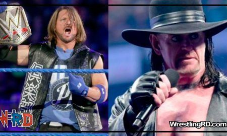 aj style, undertaker