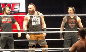 Braun Strowman, Roman Reigns, Seth Rollins