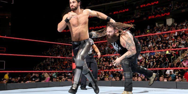 Bray Wyatt y Seth Rollins