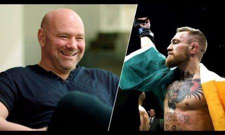 Dana White está protegiendo a Conor McGregor