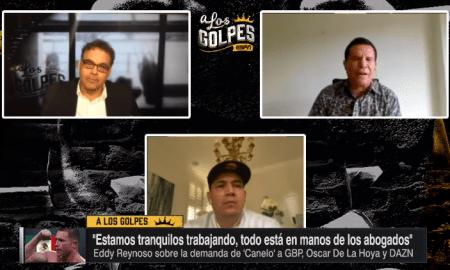 Eddy Reynoso entrenador del canelo alvarez