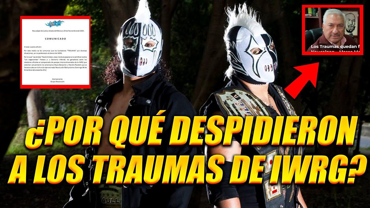 luchadores hermanos trauma