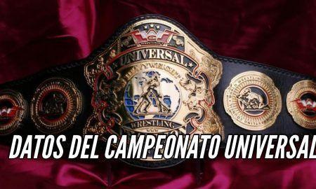 La Historia y Datos del Campeonato Universal de WWC
