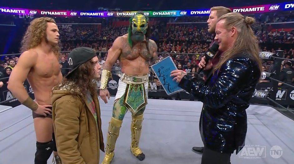 Jungle Boy vs. Chris Jericho