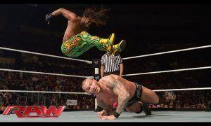 Kofi Kingston y Randy Orton