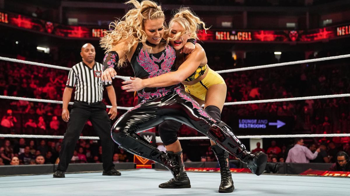 Lacey Evans vs Natalaya