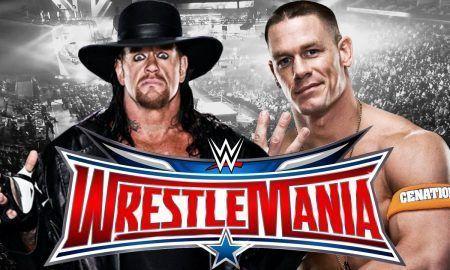 undertaker, vs john cena