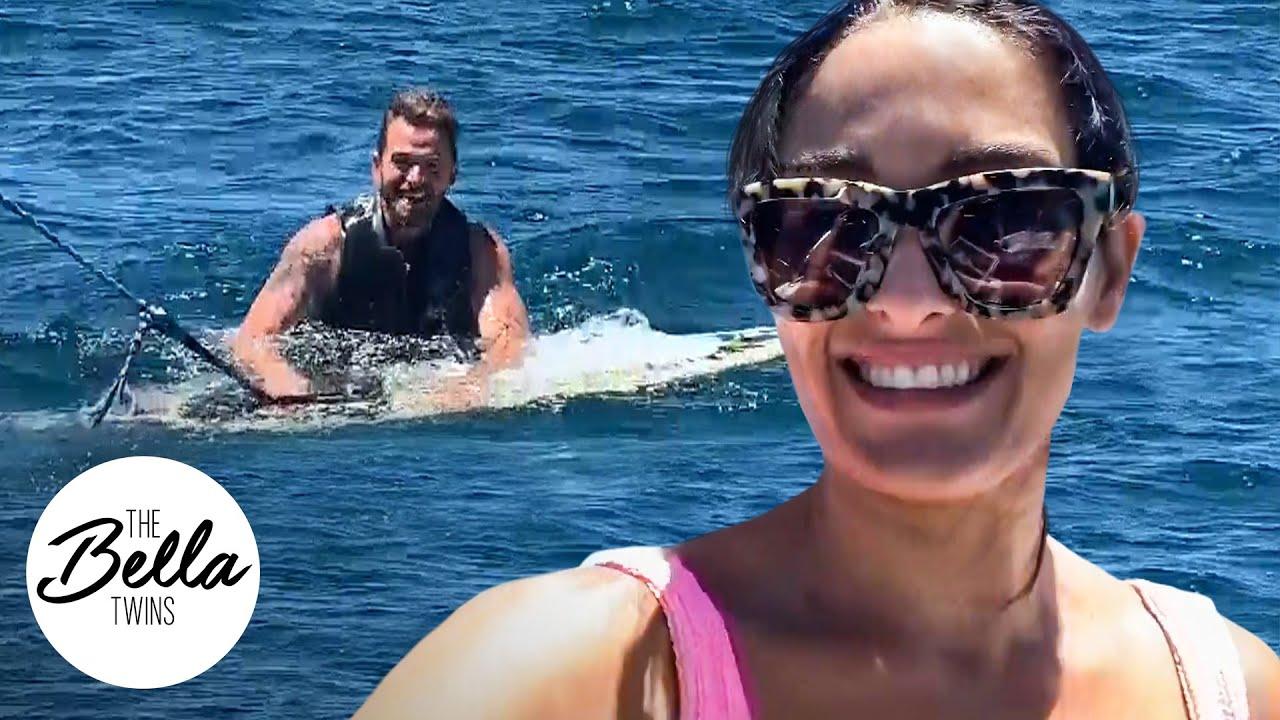 Nikki Bella junto a su nuevo novio