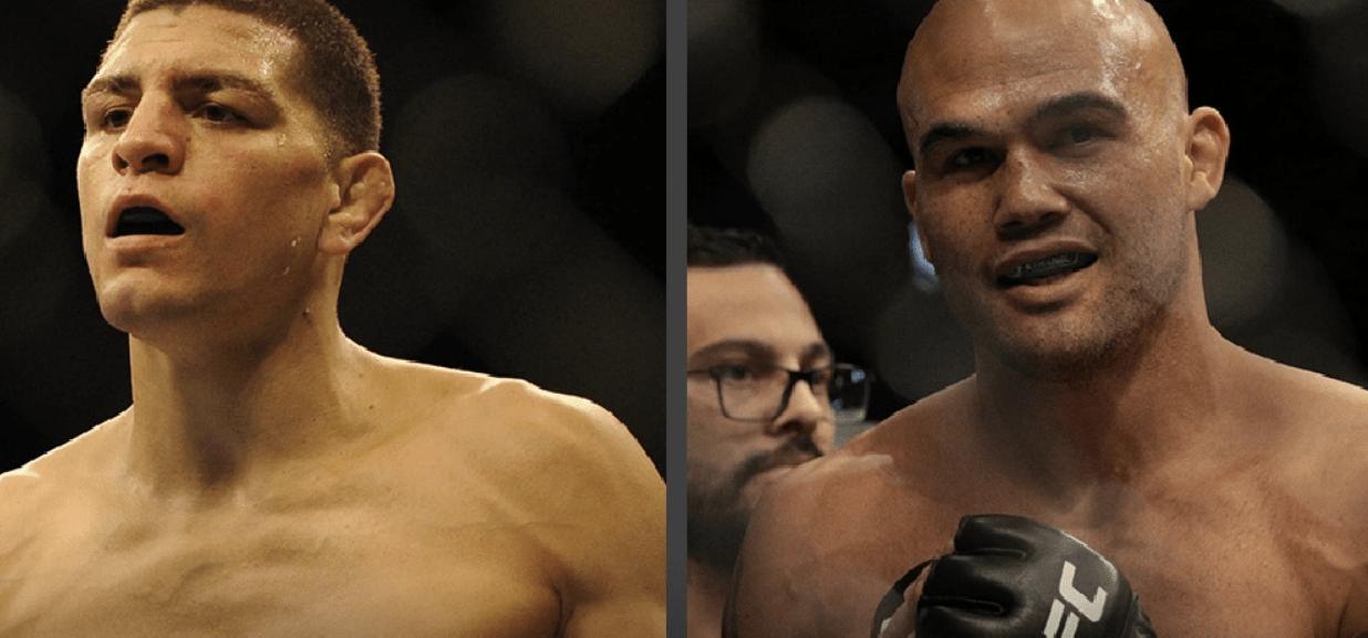 orge Masvidal cree que el regreso de Nick Díaz puede vencer a Robbie Lawler en UFC 266