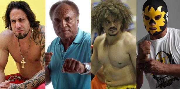 luchadores, puerto rico