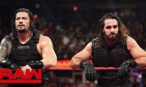 Roman Reigns y Seth Rollins