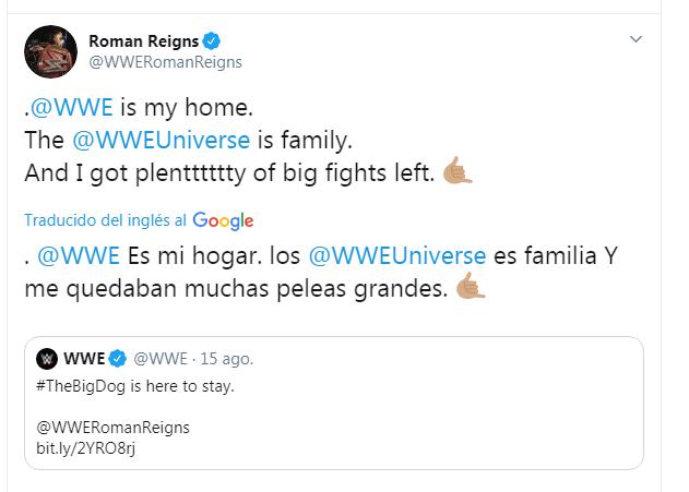 Roman Reigns firma un contrato de varios años con WWE