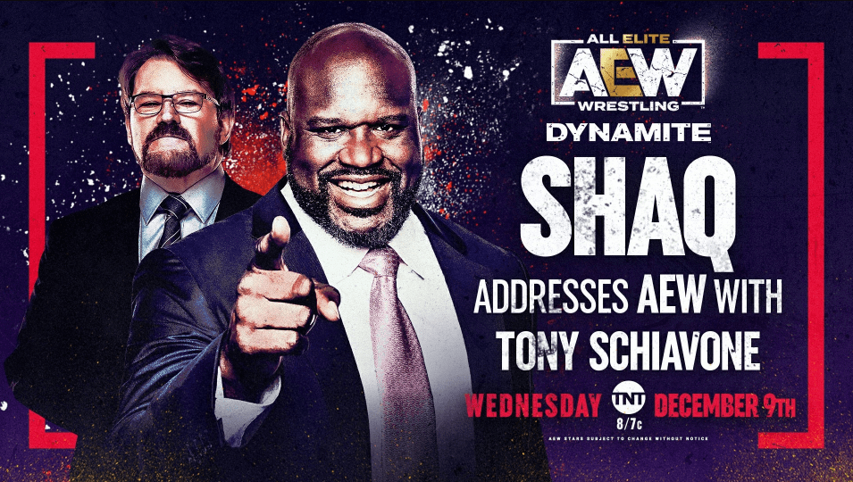 Shaquille O'Neal anunciado para AEW Dynamite de esta semana