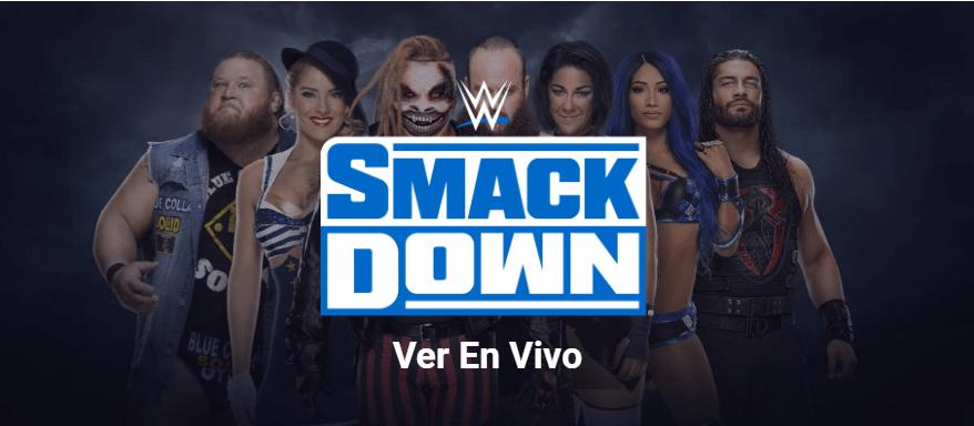 ver SmackDown en vivo, wwe