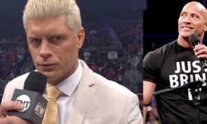 The Rock y Cody Rhodes
