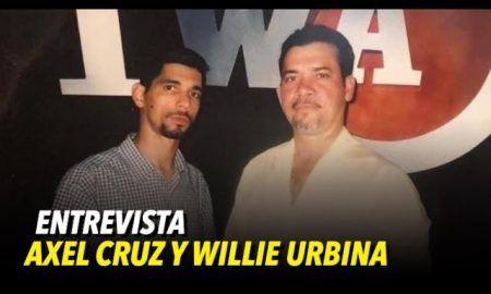 entrevista con Axel Cruz y Willie Urbina