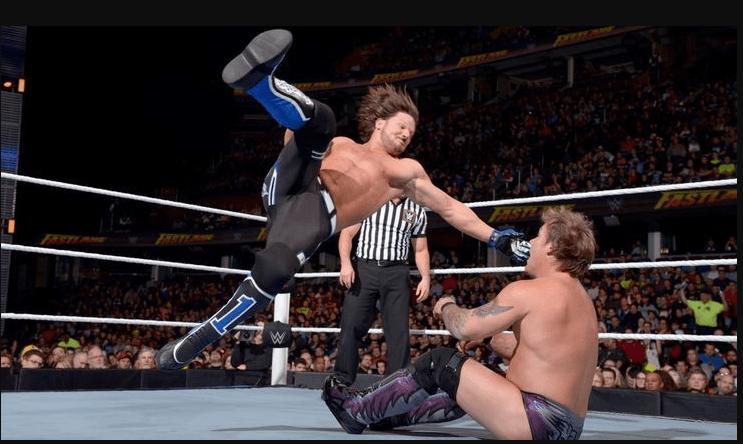 wrestling aj